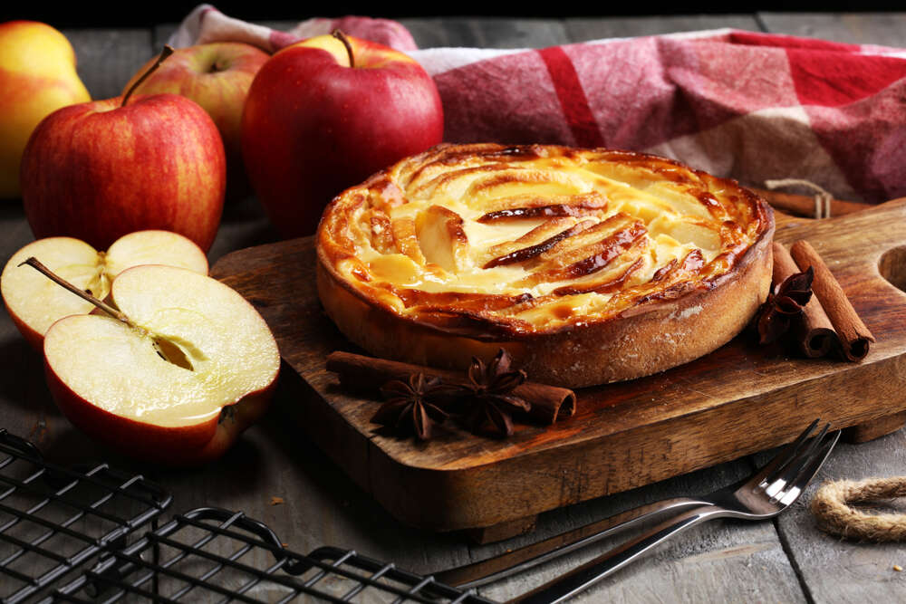 apple tart